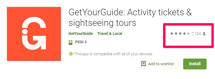 getyourguide app